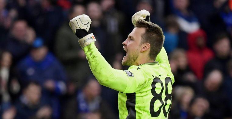 Mignolet (32) spreekt zich uit over zijn verdere toekomst bij Club Brugge