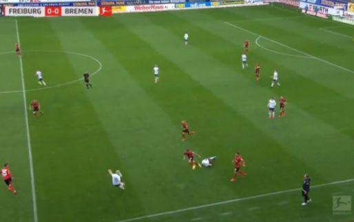 Klaassen bereidt goal van Werder Bremen voor met fabelachtige no look-assist