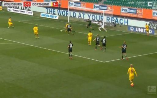 Dortmund scoort na ragfijne aanval: onbedoeld briljant overstapje van Haaland
