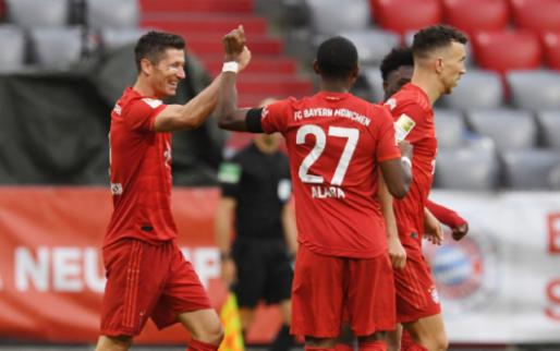 Afbeelding: Bayern München met grote cijfers langs Eintracht, hoofdrol Hinteregger