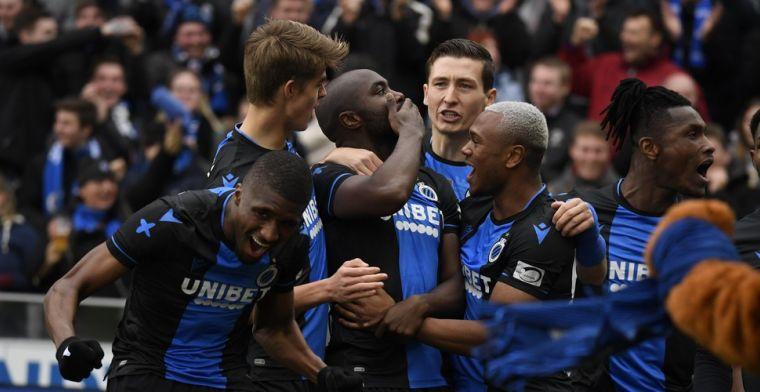 Club Brugge heeft groot jeugdplan: Helft van basis met jeugdspelers