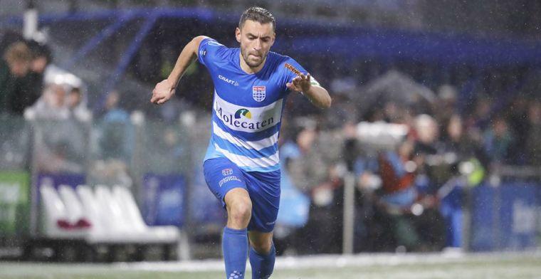 'Steven Gerrard' van PEC Zwolle: 'Bij een duurloop loop ik al die jongens eraf'