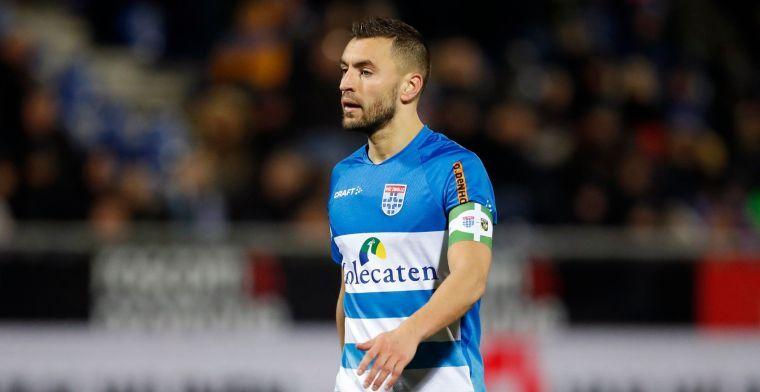 Contractnieuws bij PEC Zwolle: boegbeeld begint aan veertiende seizoen