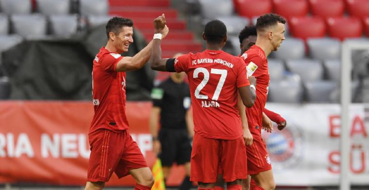 Bayern München met grote cijfers langs Eintracht, hoofdrol Hinteregger