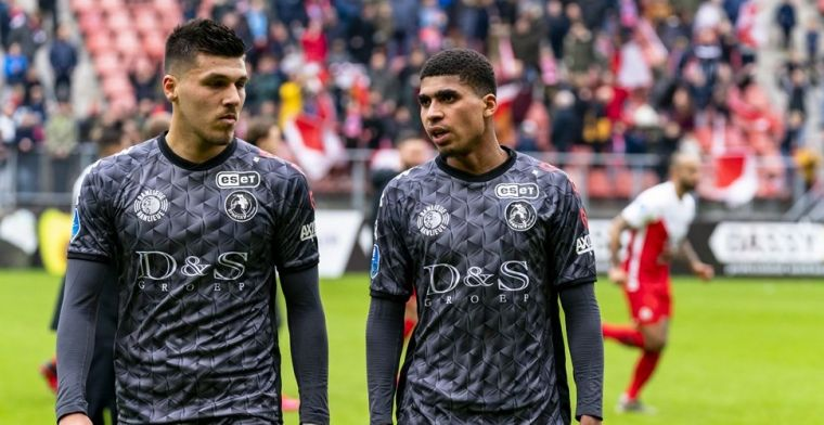 'Sparta is tevreden en heeft plannen voor deals met PSV en FC Utrecht'