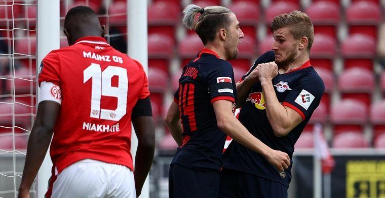 RB Leipzig vernedert Mainz wéér en maakt er 13-0 van over twee wedstrijden