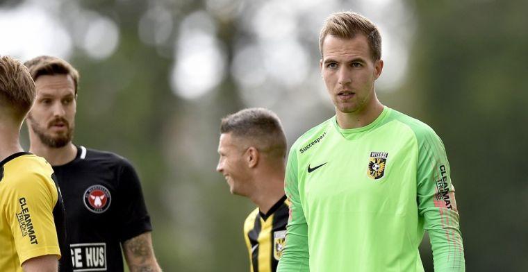 Weinig Vitesse-perspectief door Pasveer: 'Fantastisch seizoen achter de rug'