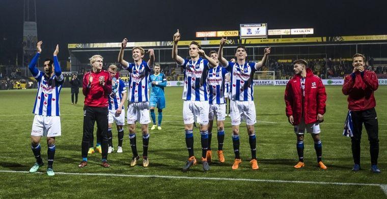 Heerenveen bereikt akkoord met spelers: 'Dat begrijpt onze groep heel goed'