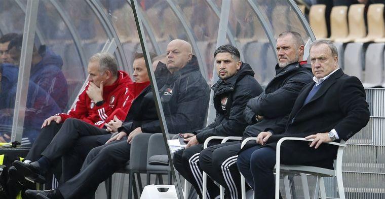 De Wolf verrast door vertrekker: 'Vind het net als iedereen bij Feyenoord jammer'