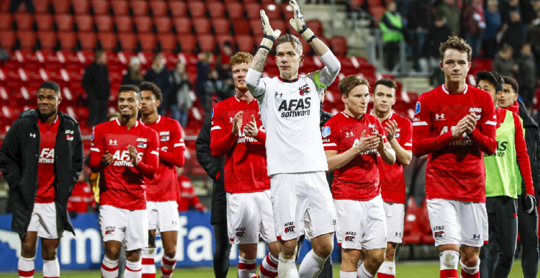 'AZ wil landstitel naar zich toetrekken en meldt zich bij de UEFA'