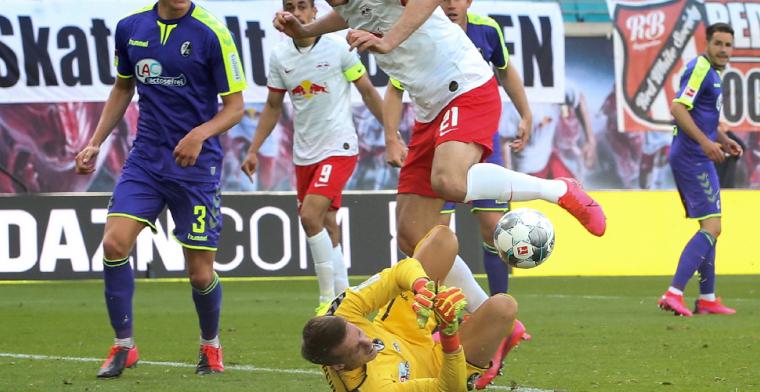 Ajax-target Schwolow blinkt uit bij Freiburg, Klaassen schiet weinig op met punt