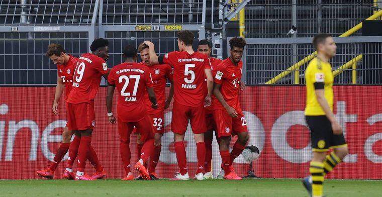 Der Klassiker prooi voor Bayern dankzij wonderschoon doelpunt van Kimmich