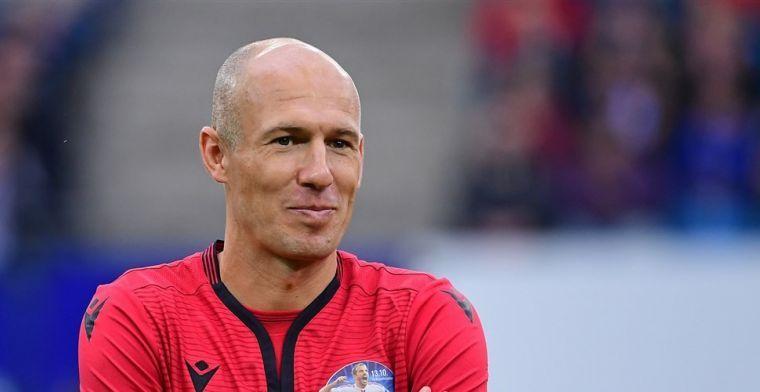 Robben: 'Van Gaal haalde me over, ik nam het risico en het was het waard'