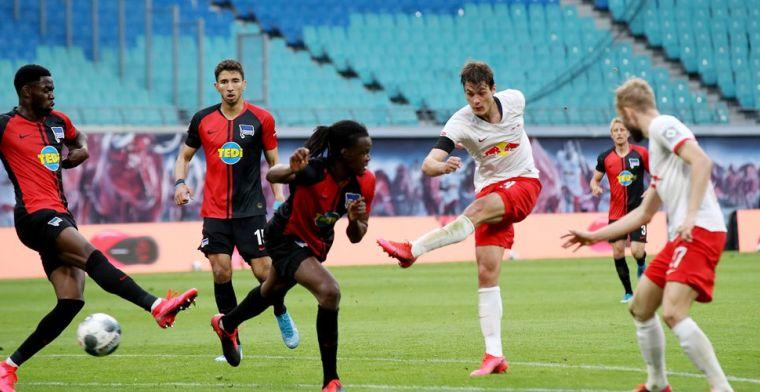 Uitstekende zaken Bayern: duur puntenverlies Leipzig tegen opgeleefd Hertha