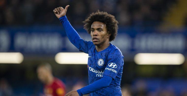 'Transfervrije Willian kan na Chelsea-vertrek in Londen blijven spelen'