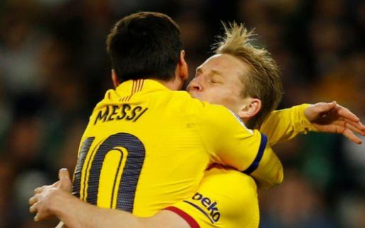 Kamp-Frenkie de Jong reageert verbaasd op Messi-gerucht: 'Complete onzin'