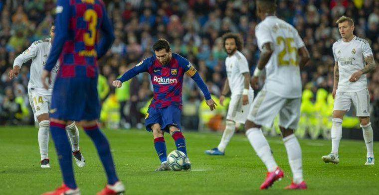 Als Real Madrid nu op nummer één stond, zou La Liga definitief zijn stopgezet