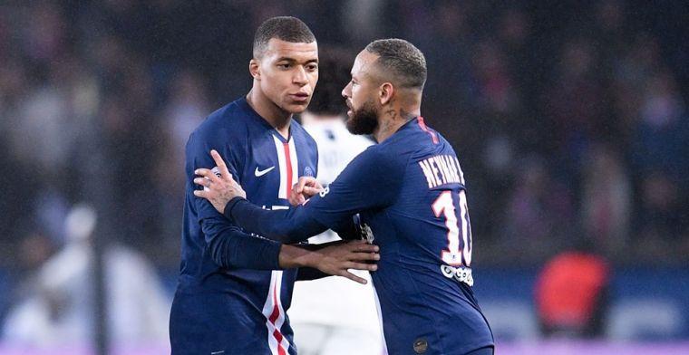 'Koude oorlog bij PSG: weigerende Neymar lijnrecht tegenover Mbappé