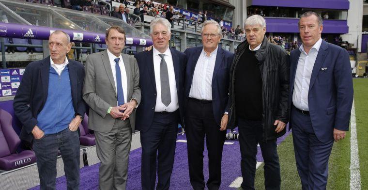 Familie Vanden Stock stelde Anderlecht-iconen Van Binst en Mulder teleur