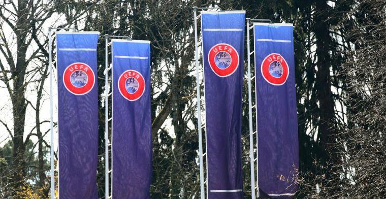 'De UEFA kijkt kritisch naar het besluit van de KNVB om de Eredivisie te stoppen'
