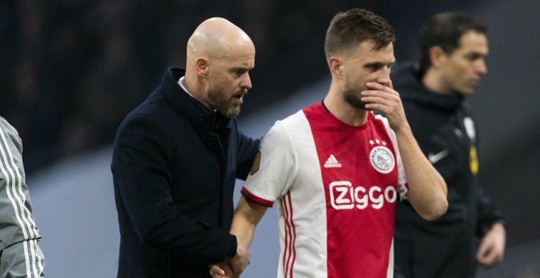 Wachten op rentree bij Ajax: Maar voor m'n knie is het prima