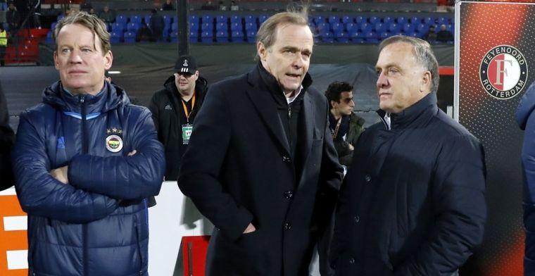 'Onrust' bij Feyenoord: 'Ik denk dat Advocaat not amused is door dit nieuws'