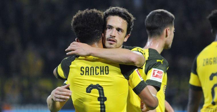 Sancho valt tegen: Er ligt veel druk op hem en hij begint dat te voelen