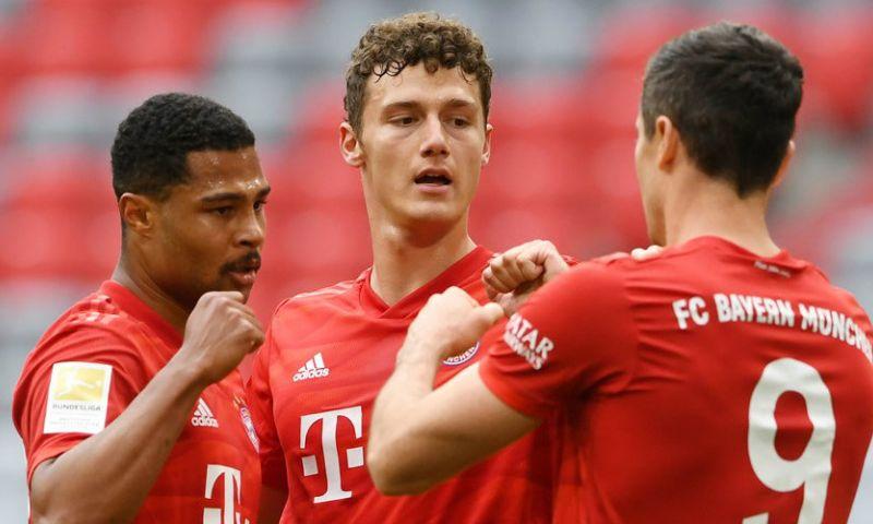 Afbeelding: Bayern dendert met prachtige goals over Düsseldorf heen en verstevigt koppositie