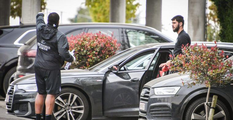 Laatste training Anderlecht: 'Iedereen wordt over twee weken terug verwacht'