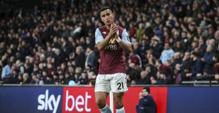 El Ghazi ziet 'wat angst' bij Aston Villa: 'Pepe Reina kon nauwelijks ademhalen'
