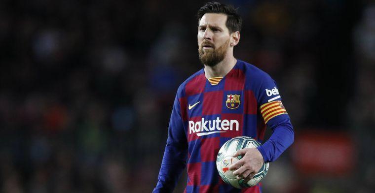 Coronacrisis treft Messi: Barça-ster niet langer best betaalde sporter ter wereld