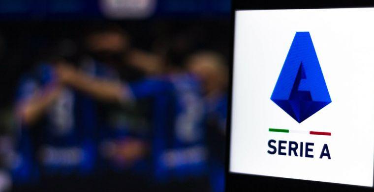 'Plan B' voor Serie A: 'Dan wordt algoritme gebruikt om eindstand te bepalen'