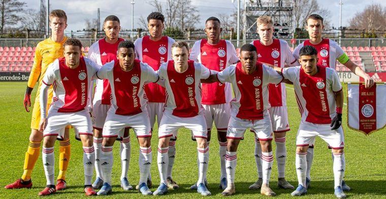 Ajax hoopt op herstart jeugd-Champions League: 'Echt een wereldselectie'