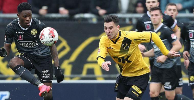 'Ik hoor in Eredivisie thuis, maar Hyballa speelt grote rol om bij NAC te blijven'