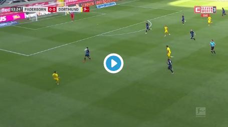 GOAL! Hazard zet Borussia Dortmund op rozen tegen Paderborn