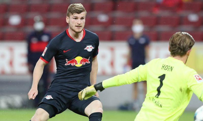 Afbeelding: RB Leipzig neemt derde plaats weer over na doelpuntrijk duel in Köln