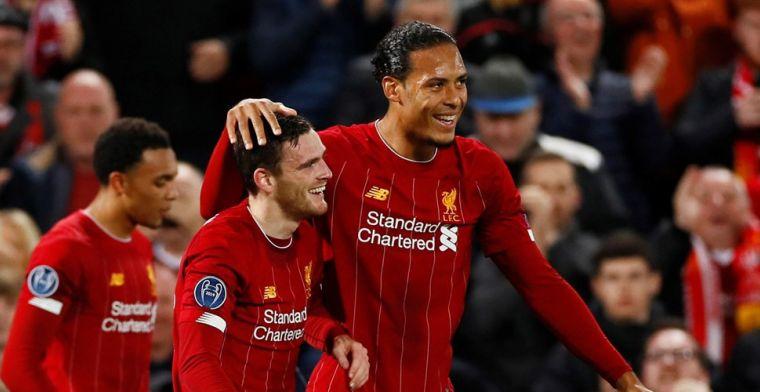 Liverpool-ploeggenoot lyrisch over Van Dijk: 'The big guy is absolute klasse'