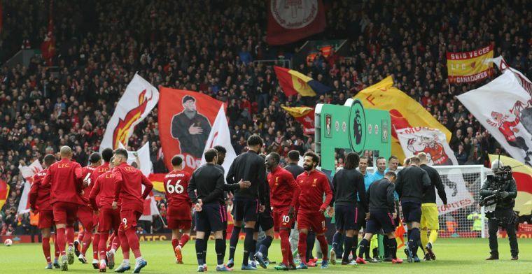 'Black Lives Matter': Liverpool-spelers knielen neer en nemen afstand van racisme