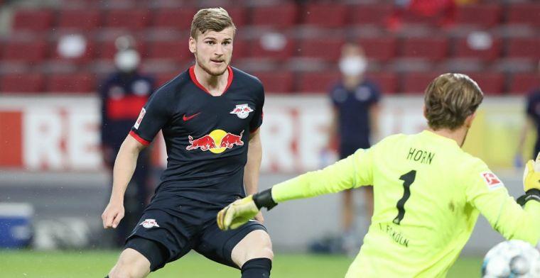 RB Leipzig neemt derde plaats weer over na doelpuntrijk duel in Köln