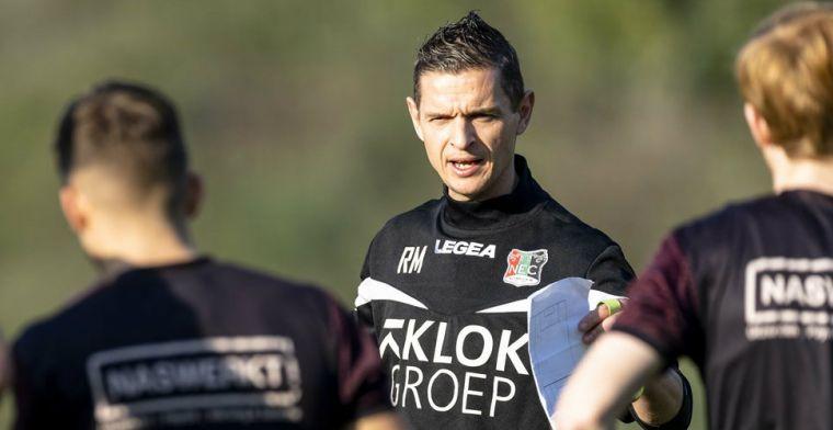 NEC heeft nieuwe coach binnen: éénjarig contract met optie voor extra seizoen