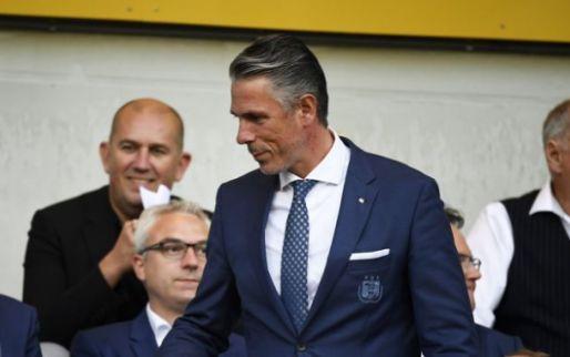 Reden voor vertrek Verschueren bij Anderlecht gekend: 'Een lege doos'