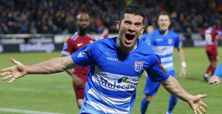 'Nieuws in Zwolle: reserve-aanvoerder gaat contract bij PEC verlengen'