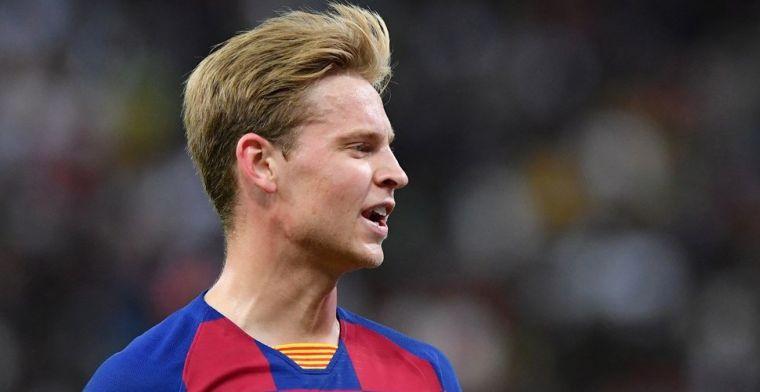 Kassa voor Ajax, Willem II en RKC dankzij Frenkie de Jong en Barcelona