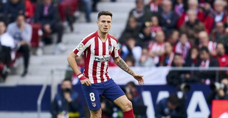 Atlético-fans halen opgelucht adem: geen transfer, wel nieuwe club Saúl