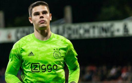 'Bij een vertrek van Onana was Dominik kandidaat om eerste Ajax-keeper te worden'