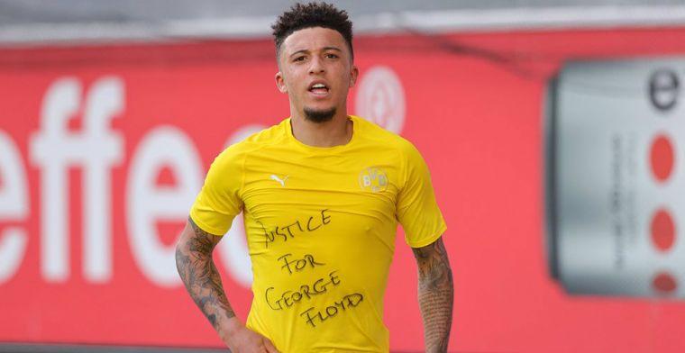 Dortmund-MVP Sancho krijgt boete na knipbeurt en ventileert woede via Twitter