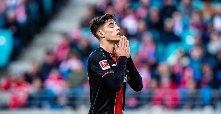 BILD: Bayer Leverkusen weigert bod van 80 miljoen op Havertz