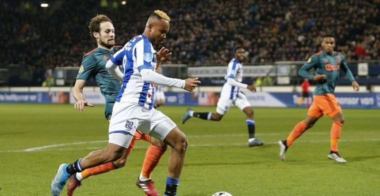 Ejuke fopte Blind tijdens Heerenveen - Ajax: 'Na twee, drie keer heb ik het door'
