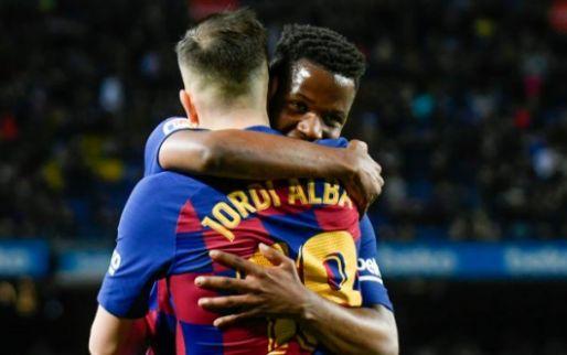 'Barcelona en Bartomeu verrast door bod van honderd miljoen op toptalent Fati'