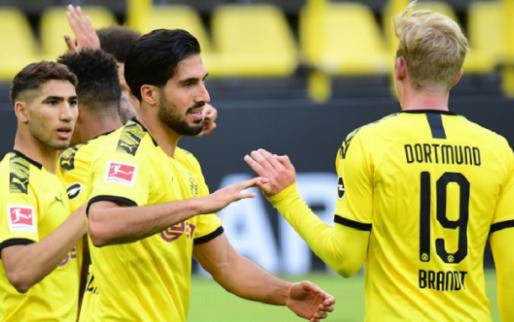 Witsel en Hazard nog niet uitgeteld voor titel na winst van Dortmund